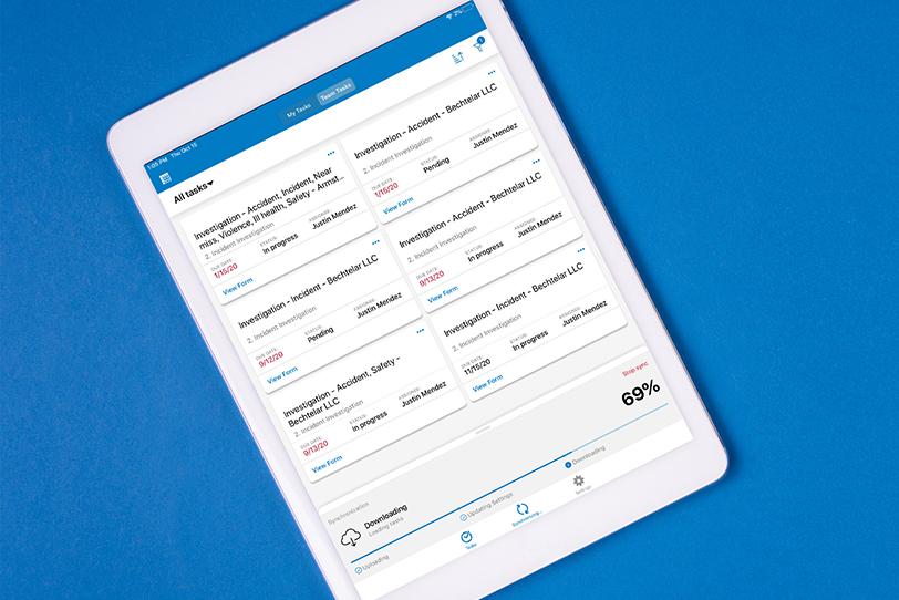 Form.com mobile app